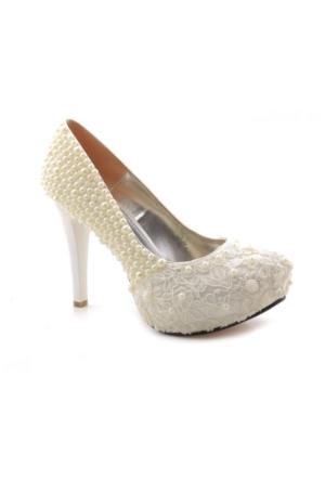 Ayakkabı Vakti Özel Üretim Platform Gelinlik Ayakkabısı
