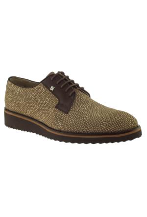 Fosco 6510 Bağlı Klasik Bej Erkek Ayakkabı