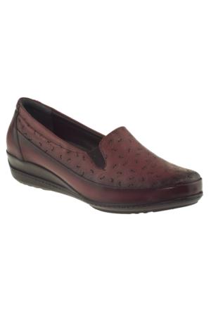 Banner-gülhan 111Vgünlük Bordo Kadın Ayakkabı