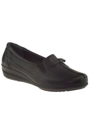 Banner-gülhan 113 Fiyonklu Siyah Kadın Ayakkabı