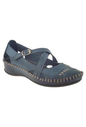 Venus 079-3006 Mavi Kadın Sandalet