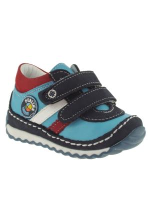 Perlina 1170 21/25 Çift Cırt Ortopedik Mavi Çocuk Ayakkabı