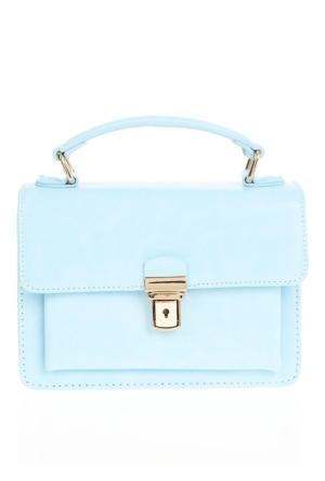 David Jones Kadın Flap Askılı Çanta Açık Mavi