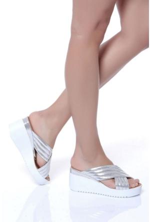 Shoes Time 17Y 138 Kadın Terlik
