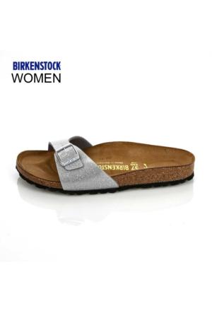 Birkenstock Kadın Terlik Gümüş 438083