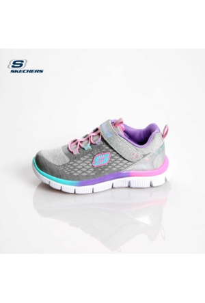 Skechers Kız Çocuk Spor Ayakkabı Gümüş 81853N