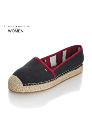 Tommy Hilfiger Kadın Ayakkabı Lacivert FW0FW00480