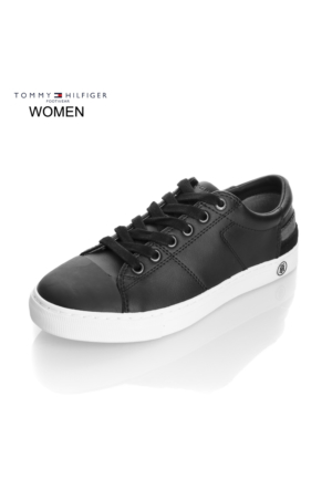 Tommy Hilfiger Kadın Sneaker Siyah FW0FW00798