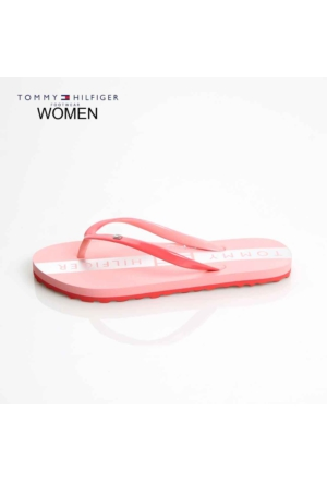 Tommy Hilfiger Kadın Terlik Kırmızı FW56821080