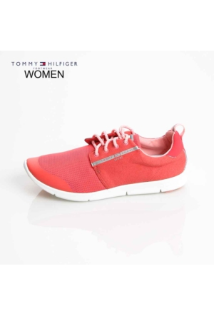 Tommy Hilfiger Kadın Sneaker Kırmızı FW56821090