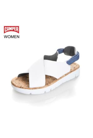Camper Kadın Sandalet Beyaz K200157-007