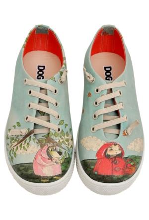 Dogo Girl & Wolf Sneaker Ayakkabı