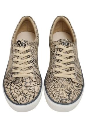 Dogo Pattern Sneaker Ayakkabı