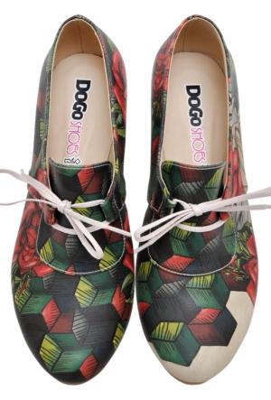 Dogo Cubic Roses Ayakkabı