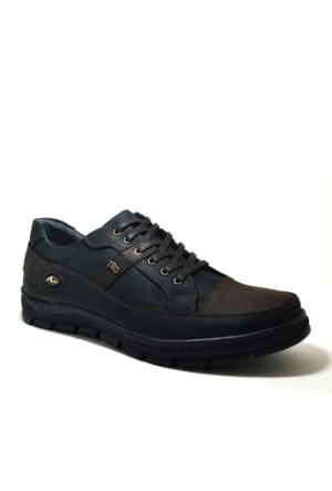Tardelli® Hakiki Deri Günlük Siyah Kahverengi Nubuk Erkek Ayakkabısı