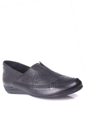 King Paolo 5041 034 013 Kadın Siyah Günlük Ayakkabı
