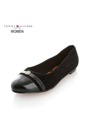 Tommy Hilfiger Fw56821764 990 Thf Shoes A1285Nne 53C Ballerinas Black Ayakkabı
