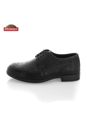 Vronsky Kc 6170 K76 Siyah Antik Ayakkabı