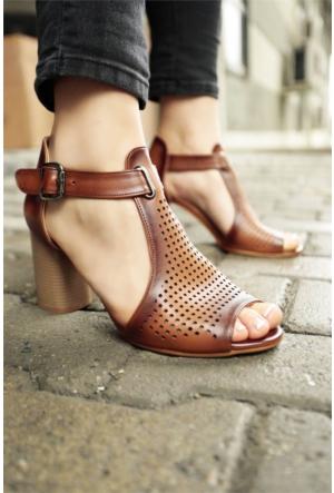 İnce Topuk Topuklu Ayakkabı 7YAZA0011014
