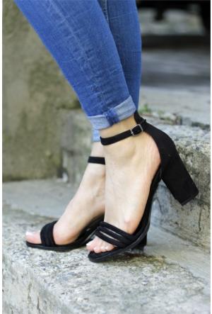 İnce Topuk Topuklu Ayakkabı 7YAZA0062416