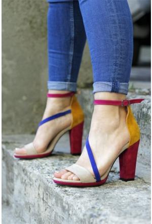 İnce Topuk Topuklu Ayakkabı 7YAZA0066770