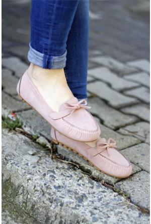 İnce Topuk Loafer Ayakkabı 7YAZA0072616