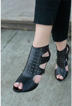 İnce Topuk Topuklu Ayakkabı 7YAZA0078004