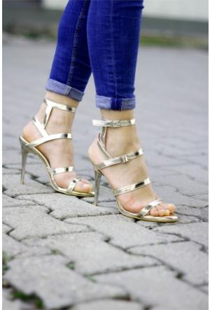 İnce Topuk Topuklu Ayakkabı 7YAZA0079467