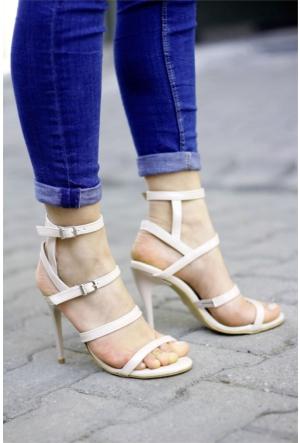 İnce Topuk Topuklu Ayakkabı 7YAZA0079844