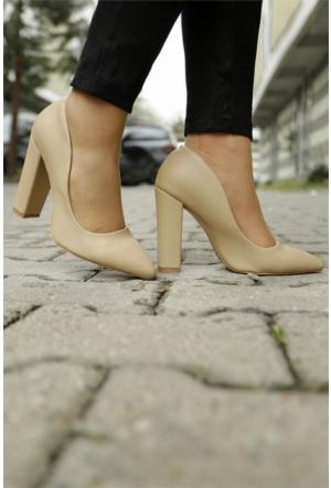 İnce Topuk Kalın Topuklu Stiletto 7YAZA0093074