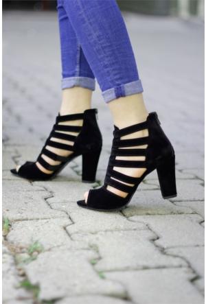 İnce Topuk Topuklu Ayakkabı 7YAZA0094416