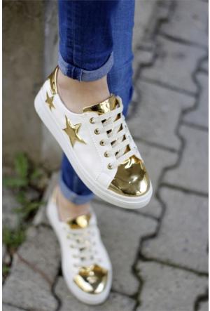 İnce Topuk Bağcıklı Spor Ayakkabı 7YAZA0102605