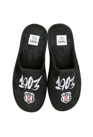 Twigy Jk106 Beşiktaş Taraftar Terlik Beyaz