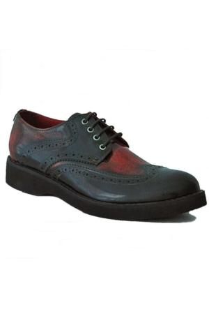 Freefoot 1384 Deri Erkek Ayakkabı Siyah