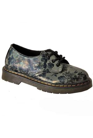 Ottimo 4001 Oxford Kadın Ayakkabı Gri