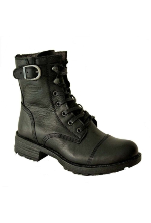 Scooter G1694 Deri Watertıght Çizme Siyah