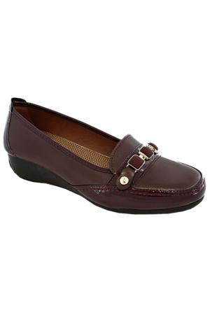 Swıft Clavi 1107 Günlük Kadın Ayakkabı Bordo