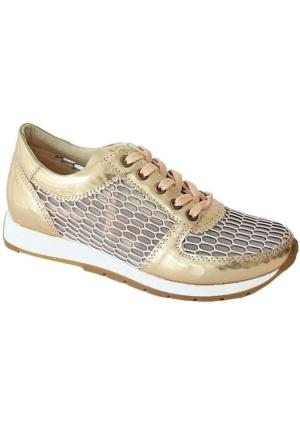 Ottimo 4041 Günlük Kadın Ayakkabı Dore