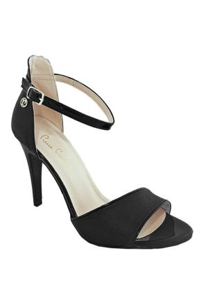 Pierre Cardin 71015 Topuklu Kadın Ayakkabı Siyah