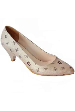 Pierre Cardin 45336 Sivri Burun Kadın Ayakkabı Somon