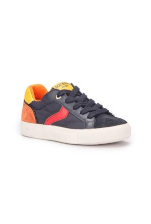 Dockers 222255 Lacivert Turuncu Kırmızı Erkek Çocuk Ayakkabı