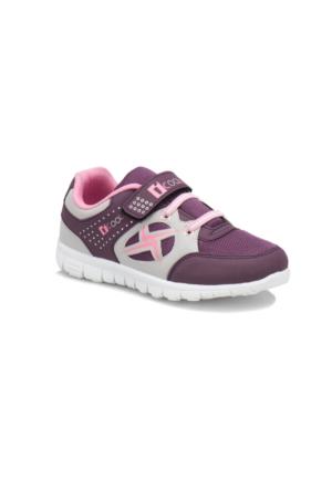 İ Cool Fabricıo Mor Pembe Kız Çocuk Sneaker