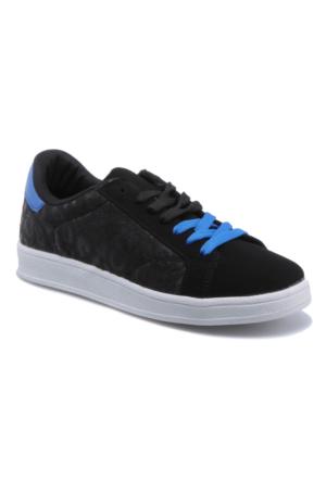 Jj-Stiller Bd25027 Siyah Kadın Sneaker