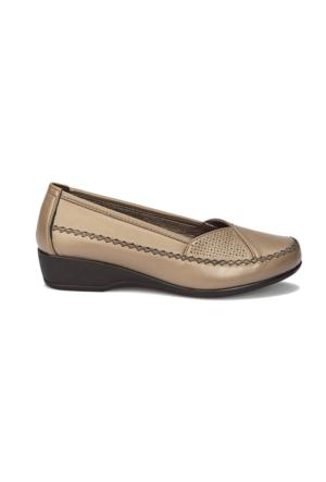 Polaris 71.157280.Z Vizon Kadın Ayakkabı