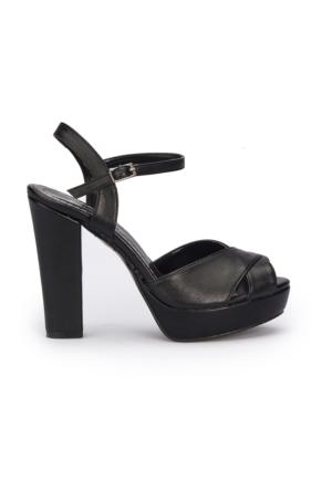 Polaris 71.309920.Z Siyah Kadın Sandalet