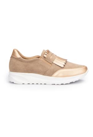 Polaris 71.310080.Z Bej Kadın Ayakkabı