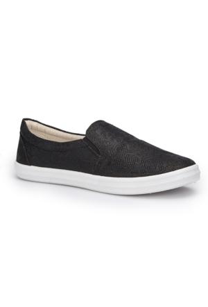 Polaris 71.354981.Z Siyah Kadın Ayakkabı