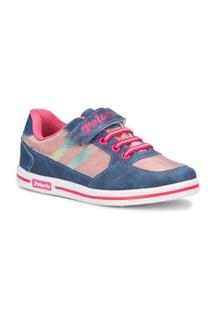 Polaris 71.509314.F Mavi Kız Çocuk Sneaker
