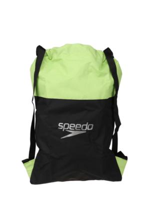 Speedo 8-090637045 Siyah Yeşil Kadın Sırt Çantası