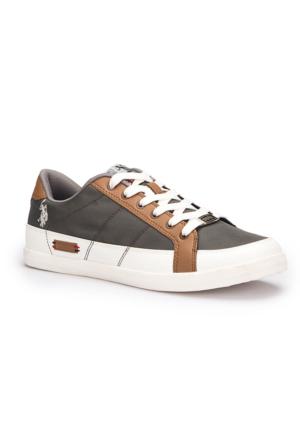 U.S. Polo Assn. Corona Gri Erkek Sneaker